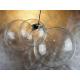 bombka 100mm czyste szkło