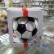 piłka z imieniem czarno biała 8cm