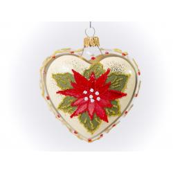 serce dekorowane gwiazda betlejemska