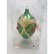 JAJO duże dekorowane kamieniami bombka szklana WZÓR 4