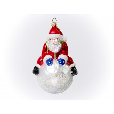 Mikołaj na kuli