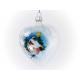 serce dekorowane pejzaż bombka typu LOOK INSIDE