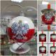 Bombka 100mm z Orłem Białym - Godłem Polski