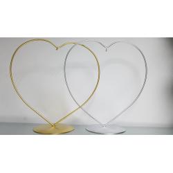 stojaczek do bombki 10cm w kształcie serca