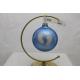 BOMBKA szklana 100mm dekor STÓPKI