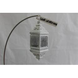 Latarnia bombka szklana luz