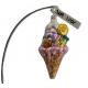 Rożek lodowy czekoladowy lodzik bombka